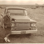 Mom in Cochran AB 1961