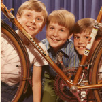 Peter, Billy, Johnny - Nick's bike