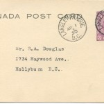 Langley Prairie Postmark April 1 1950