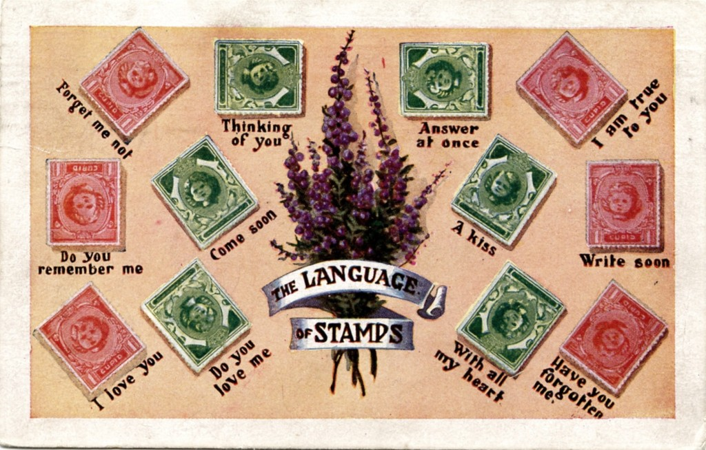 The Language of Stamps 1917 PM